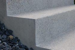 Treppen-Beton-eingang