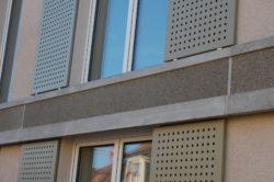 Fassadenabschluss