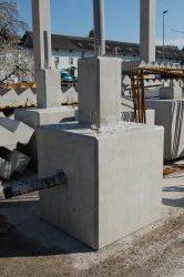 Tiefbau Fundamente Beton